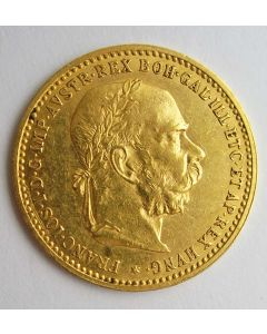 Oostenrijk, 10 kronen goud, 1906