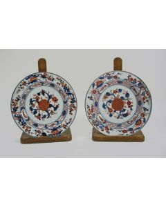 Stel Chinees Imari borden, 18e eeuw