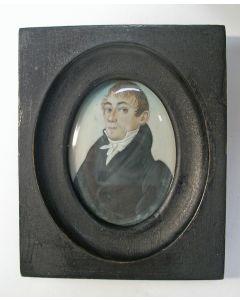 Portretminiatuur, ca. 1820