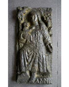 Anne Hofte, Sint Anna, bronzen reliëf