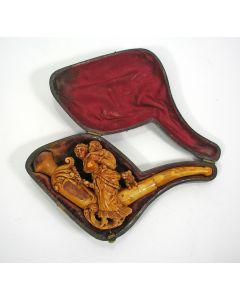 Meerschuim pijp, 19e eeuw