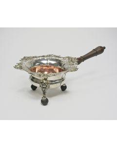 Klassiek zilveren pijpkomfoor