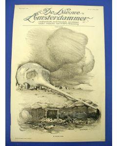 Piet van der Hem, De Nieuwe Dood, litho voor de Nieuwe Amsterdammer, 1915
