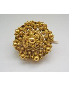 Gouden broche, Zeeuwse knop