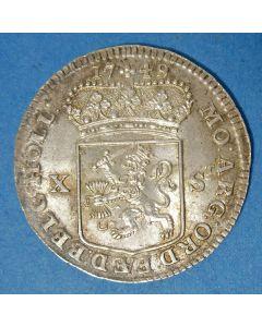 Holland, X stuivers 1749