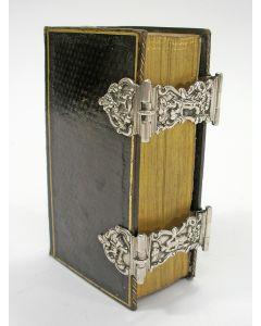Kerkbijbel met zilverbeslag, Gerrit van Goethem, Middelburg 1796