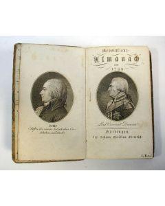 Revolutions-Almanach von 1799 (met toevoegingen in handschrift)