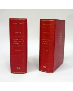 Pieter Scheen, Lexicon Nederlandse Beeldende Kunstenaars (1750-1950), 2 delen, 1969/70