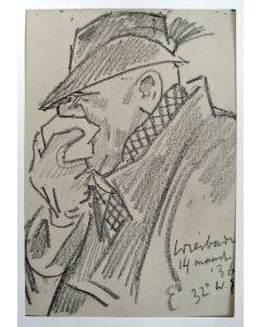 Willy Sluiter, 'De verkouden jager', 1936