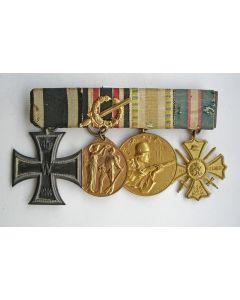 Duitsland, spang van vier militaire onderscheidingen, periode Eerste Wereldoorlog