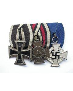 Duitsland, spang van drie onderscheidingen, periode Eerste Wereldoorlog en Derde Rijk