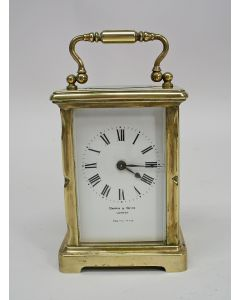 Carriage clock, Mappin & Webb, ca. 1900