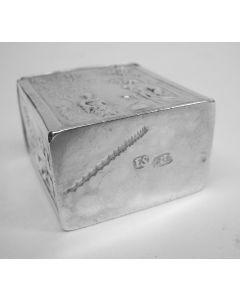 Penning, opening van het nieuwe beursgebouw, Amsterdam 1845