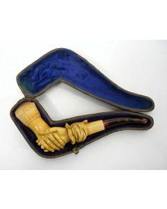 Meerschuim pijpje, 19e eeuw