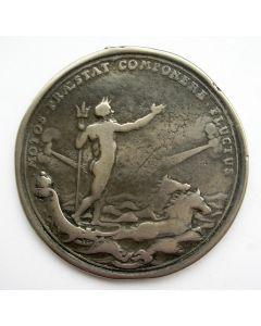 Beloningspenning voor de Amsterdamse schutters voor het neerslaan van het aansprekersoproer, 1696.