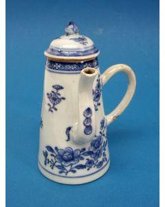 Chinese porseleinen koffiepotje, QianLong periode