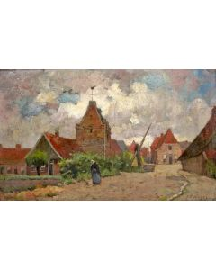 J.H. Weijns, Dorpsgezicht, Losser
