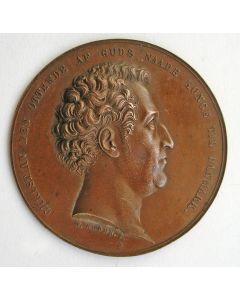 Plaquette, Christiaan VIII van Denemarken