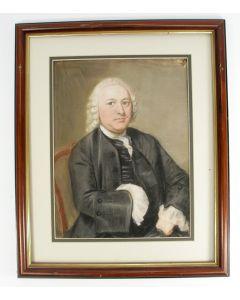 Pieter Frederik de la Croix, portret van een voorname heer, 1767