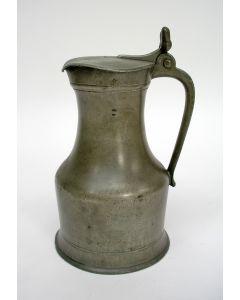 Tinnen eikelkan, Frankrijk, ca. 1800