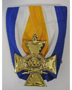 Officierskruis, 40 jaar