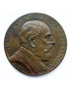 """Penning,Jhr. Mr. Cornelis van Eysinga 50 jaar volmacht van het waterschap 'De zeven grietenijen en de stad Sloten"""", 1925 [J.C. Wienecke]"""