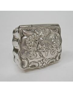 Zilveren snuifdoos, Hendrik Dauw, Leeuwarden, 1772