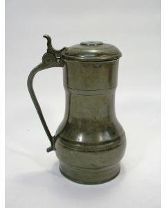Tinnen maatkan / Rembrandtkan, 18e eeuw