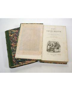 Comte de las Cases, Mémorial de Sainte-Hélène. Suivi de Napoléon dans l'exil. Twee delen met illustraties, 1842