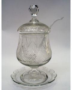 Kristallen bowlpot / boerenjongenspot, ca. 1900