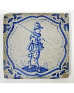 Krijgsmantegel 17e eeuw