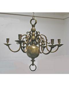 Koperen kaarsenkroon, 19e eeuw