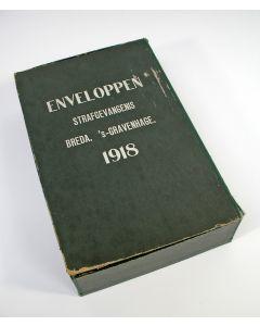 Enveloppendoos, Strafgevangenis Breda, 1918