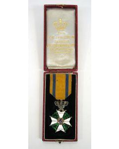 Onderscheiding Militaire Willemsorde, in cassette, met reglement