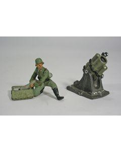Lineol, soldaat van de Wehrmacht met granaatwerper