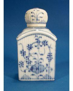 Saksisch porseleinen theebus, 19e eeuw