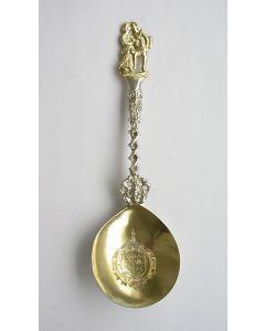 Friese zilveren gelegenheidslepel, 18e eeuw