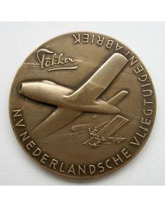 Penning, 30-jarig bestaan van de Fokker Vliegtuigenfabriek, 1949