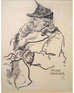 Herman Moerkerk, Oude dame met handtas