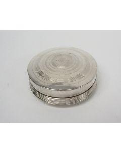 Zilveren pepermuntdoosje,  Corstiaan Keppel, Schoonhoven, 1820