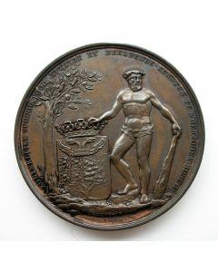 Beloningspenning van de Koninklijke School voor Nuttige en Beeldende Kunsten te 's-Hertogenbosch [1828]