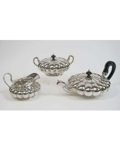 Zilveren theeservies, Bentveld en Bonebakker