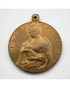 Draagpenning voor de geboorte van Juliana, 'De vervulling' door Pier Pander, 1909