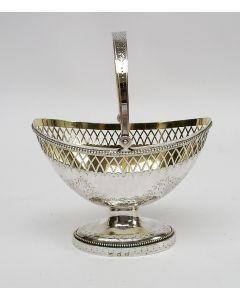 Empire zilveren suikervaas, Gerard Jan Buijsen, Amsterdam 1816