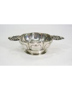 Klassieke zilveren brandewijnkom, 1920