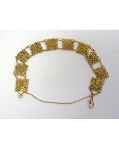 Filigrain gouden armband