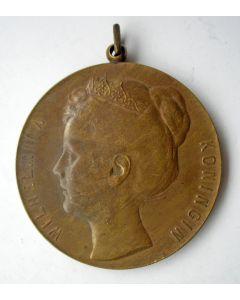 Prijspenning, Koningin Wilhelmina, door Pier Pander, 1898