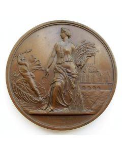 Penning,  Droogmaking van de Haarlemmermeer, 1853