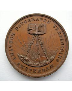 Prijspenning Amateur Fotografen Vereeniging te Amsterdam, 1888