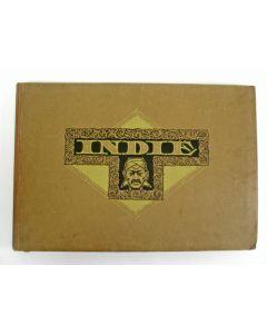 Plaatjes Album 'Indië', uitgave voor Droste door J.C. Lamster, 1928